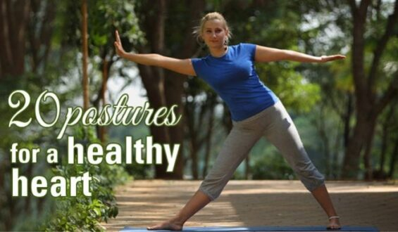 20 Yoga Poses For Improved Heart Health