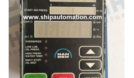 An overview of engine control & alarm system of a ship