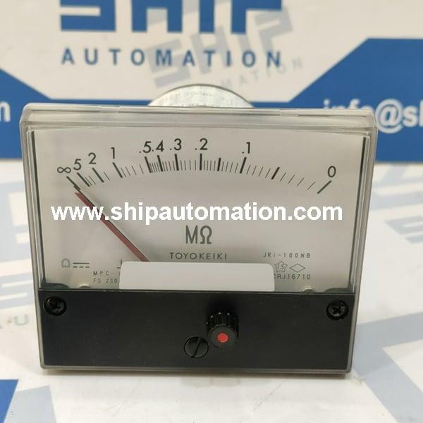 Marine meters and gauges